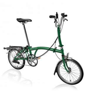 Brompton Vélo pliant M6L Turkish Green