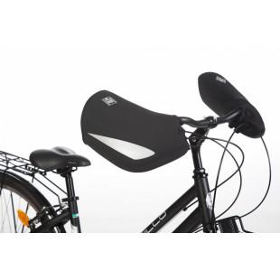 TUCANO Manchon de vélo City noir