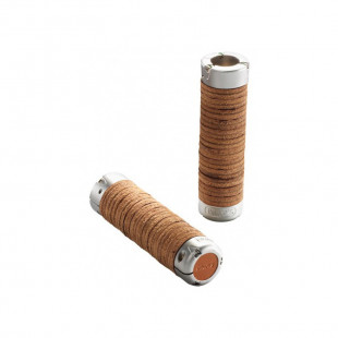 Plump Leather Grips - Honey