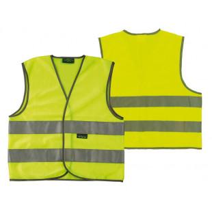 gilet de sécurité Wowow pour adultes jaune bandes réfléchissantes