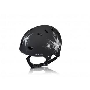 casque Urban XLC BH-C22 taille unique (53-59cm) noir mat, Spikes