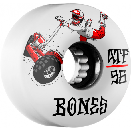 BONES WHEELS (JEU DE 4) ATF SEG CROSS 80A 56MM