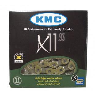 "Chaîne KMC X-10.73 1/2""x11/128"", 114 maillons, 5,8mm 10 vit"