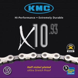 Chaîne KMC 10 vitesses X-10.93