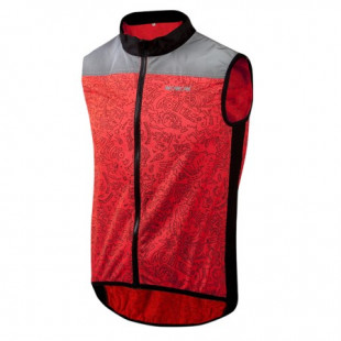WOWOW Gilet rouge fluo REBEL JACKET