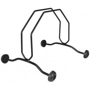 pied d'exposition avec 4 roulettes stand de velo