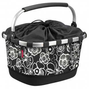 Klickfix Panier à fleurs velo Carrybag GT UniKlip pour tout porte-bagage