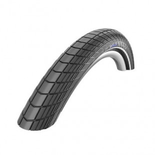 "Schwalbe pneu Big Apple Plus HS 430 20x2.15"" 55-406 noir Reflex GG Twin"