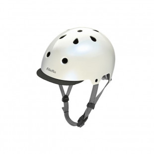 Electra Casque Helmet Mother of Pearl blanc nacré