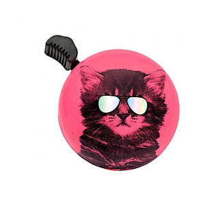 Sonnette Bell Electra Domed Ringer Coolcat Chat à Lunette mirroir