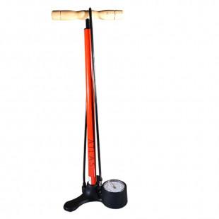 Pompe à pied acier KHEAX Atlas Rouge