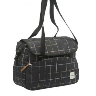 sacoche New Looxs porte bagage Tosca à carreaux