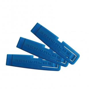 Schwalbe demonte pneu bleu 3 pieces