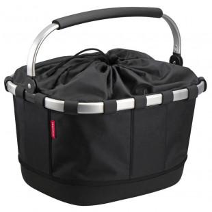 Klickfix Panier noir velo Carrybag GT UniKlip pour tout porte-bagage