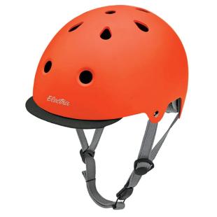Casque Helmet Electra Tangerine