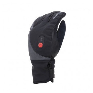 Gants chauffants SEALSKINZ Waterproof Heated Cycle