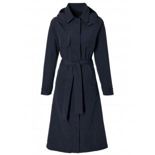 Basil Mosse veste de pluie femmes Trench-Coat