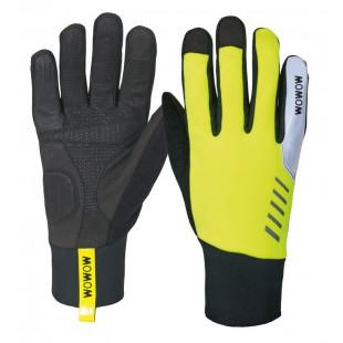 Wowow gants Daylight jaune/noir réflechissants