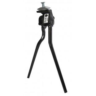 Pletscher Béquille double Alu Esge noir L - long 320 mm
