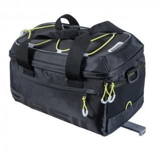 Basil Sacoche arrière MILES, 7L, noir jaune