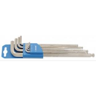 set clés hexagonales Unior long clip en plastique 1,5-10mm, 220/3SLPH