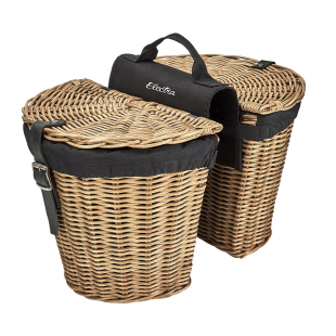 Electra Rattan Pannier Basket