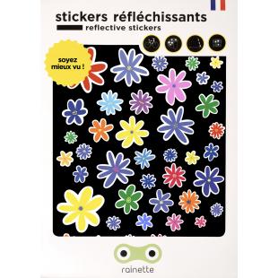 RAINETTE Stickers Réfléchissants - FLEURS