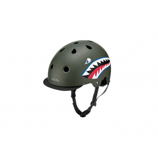 Electra Casque Helmet Lifestyle Lux Graphite Brillant