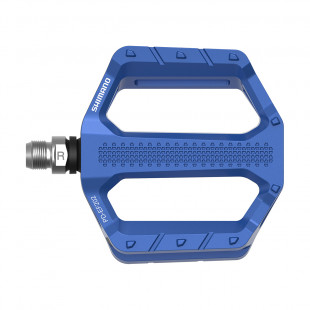 Shimano Pédales Plates Explorer PD-EF202 Bleu