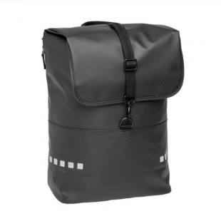 SACOCHE VELO PORTE BAGAGE NEWLOOXS ODENSE BACKPACK NOIR - 18 LITRES - 300X430X170MM