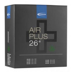 """chambre à air Schwalbe AV 13AP Air Plus 26x1.50-2.50"""" 40/62-559"""