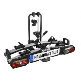 EUFAB porte-vélos pliable premium 2 plus