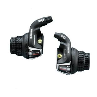 shimano Paire Manettes Vit 3x7v SL-RS35 Tourney Ac Cables