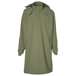 Basil Mosse poncho de pluie unisex, Vert olive taille unique