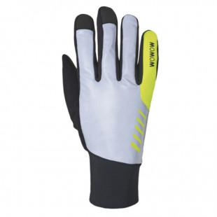 Wowow gants Night Stroke gris/noir réflechissants
