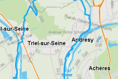 L'association AVELEC propose une ballade en VAE sur les bords de Seine